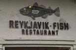 Fish restaurant, Reykjavík