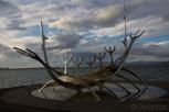 Sun Voyager Sculpture, Reykjavík