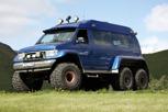 Icelandic 6 x wheel drive