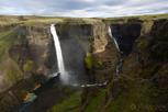 Háifoss Waterfalls