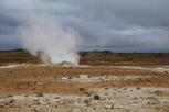 Sulphurous mud springs, Námaskarð