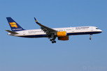 The national carrier Icelandair with its fleet of Boeing 757