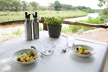 Fresh fruit at Lion Sands Lodge,  Kruger National Park