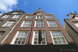 Winch for getting furniture to upper levels in the narrow houses, Amsterdam