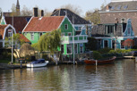 Old style village by the canal, Zaandam