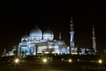 The Sheikh Zayed Mosque at night, Abu Dhabi