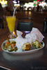 Shawarma and mango juice, Deira