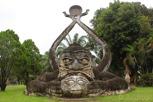Statue at Buddha Park