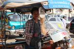 Tuk tuk driver, Vientiane