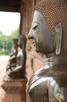 Buddhas outside Wat Ho Pra Keo