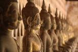 Buddhas at Wat Si Saket, Vientiane