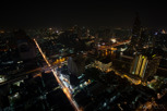 Bangkok night view from Lebua State Tower, Bangkok