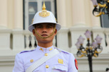 Guard at The Chakri Group (Phra Thinang Chakri Maha Prasat), Bangkok
