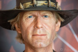 Mike Dundee aka Crocodile Dundee at Madame Tussauds, Sydney