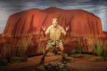 Steve Irwin at Madame Tussauds, Sydney