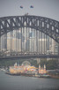 Sydney Harbour Bridge and Luna Park, Sydney