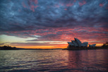 Sydney Opera House at sunrise, New South Wales