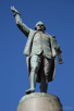 Captain James Cook statue inside Hyde Park, Sydney