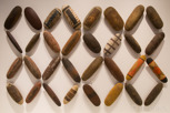 Aborigine shields at Australian Museum, Sydney