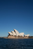 Sydney Opera House as seen from Dawes Point