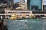 The Circular Quay and Sydney Ferries, Sydney