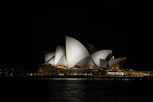 Sydney Opera House at night, New South Wales