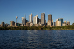 Sydney skyline from Royal Botanic Gardens, New South Wales