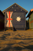 Beach hut at Brighton Beach, Melbourne