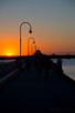 St Kilda pier at sunset, Melbourne