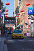 A local taxi at Chinatown, Melbourne
