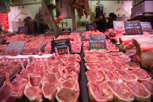 Lamb meat at Queen Victoria Market, Melbourne