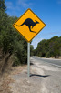 Kangaroo road sign, Kangaroo Island