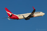 Qantas Boeing 737-800 of the national carrier of Australia, Melbourne