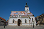The Church of St. Mark in Gornji Grad, Zagreb