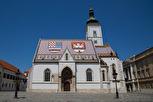 The Church of St. Mark in Gornji Grad, Zagreb