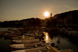 Sunset at Hvar