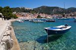 Idyllic Croatian marina view, Hvar