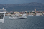 The island ferry services by Jadrolinija, Split