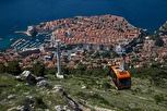 The cable car up to Srd, Dubrovnik