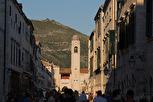 Stradun at sunset, Dubrovnik
