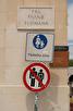 Forbidden signs, Split