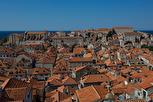 Rooftops inside the city walls, Dubrovnik