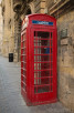 Red telephone box, Valletta