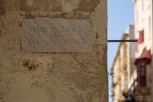 Old Mint Street sign, Valletta