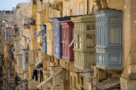 Traditional Maltese balconies, Valletta