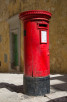Red letter box, Valletta