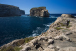 The Fungus Rock at Dwerja Bay, Gozo
