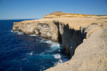 Limestone formations at Gozo