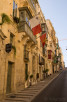 Street view of Valletta