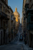 The Basilica of Our Lady of Mount Carmel as seen from Old Mint Street, Valletta